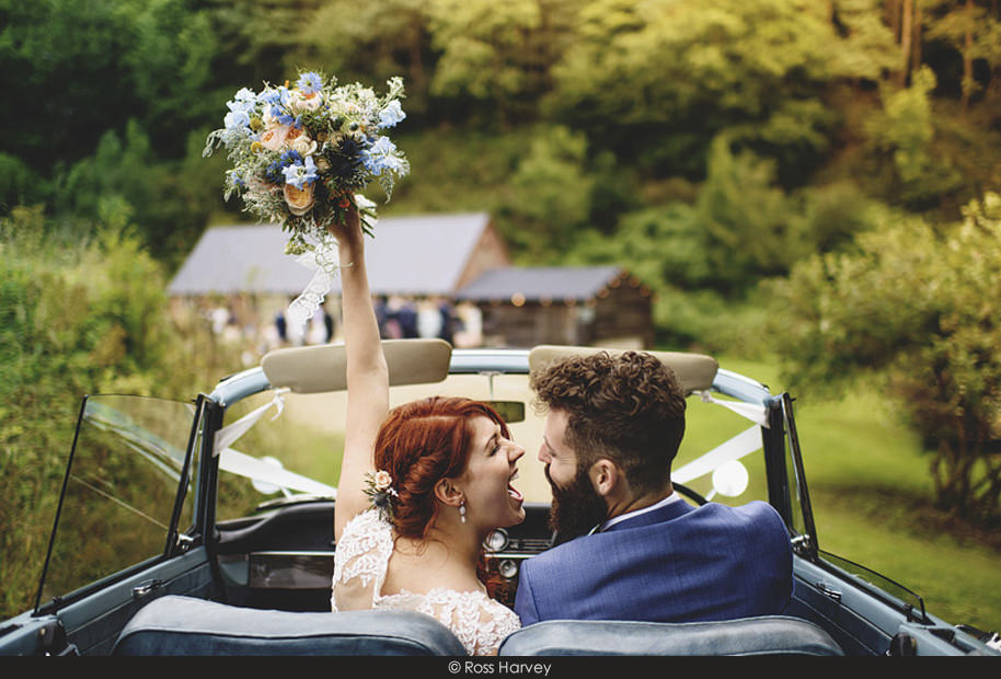 Ross Harvey Wedding Photo